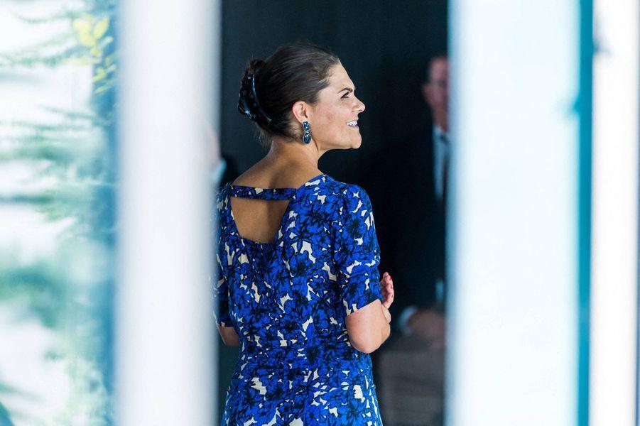 La princesse Victoria de Suède à Stockholm, le 20 août 2020
