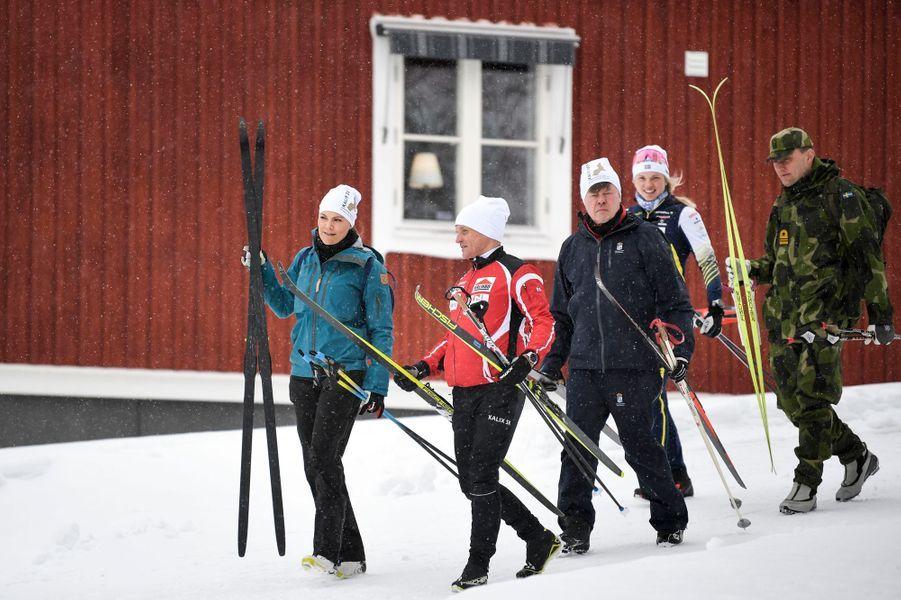 La princesse héritière Victoria de Suède dans le Norrbotten, le 20 mars 2019