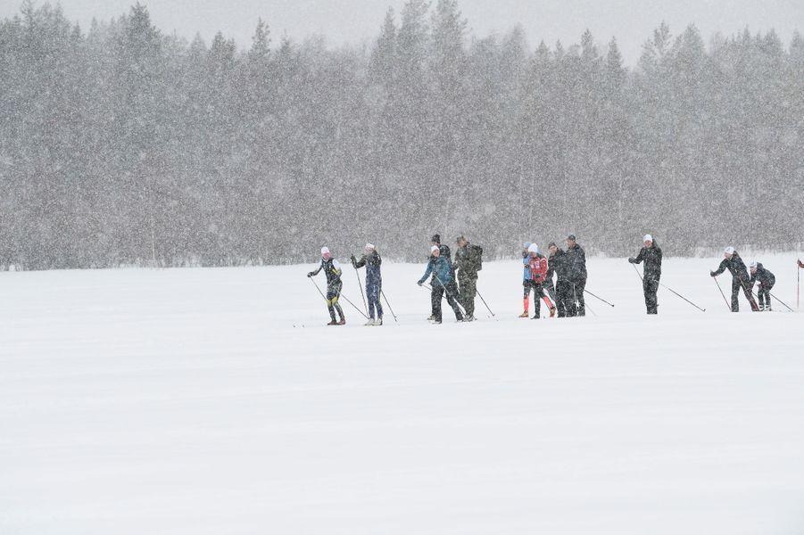 La princesse Victoria de Suède à Kalix, le 20 mars 2019