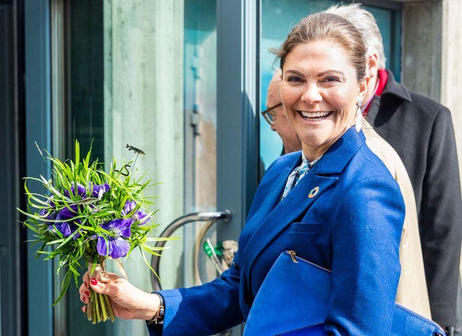 La princesse Victoria de Suède, le 11 avril 2019 à Stockholm