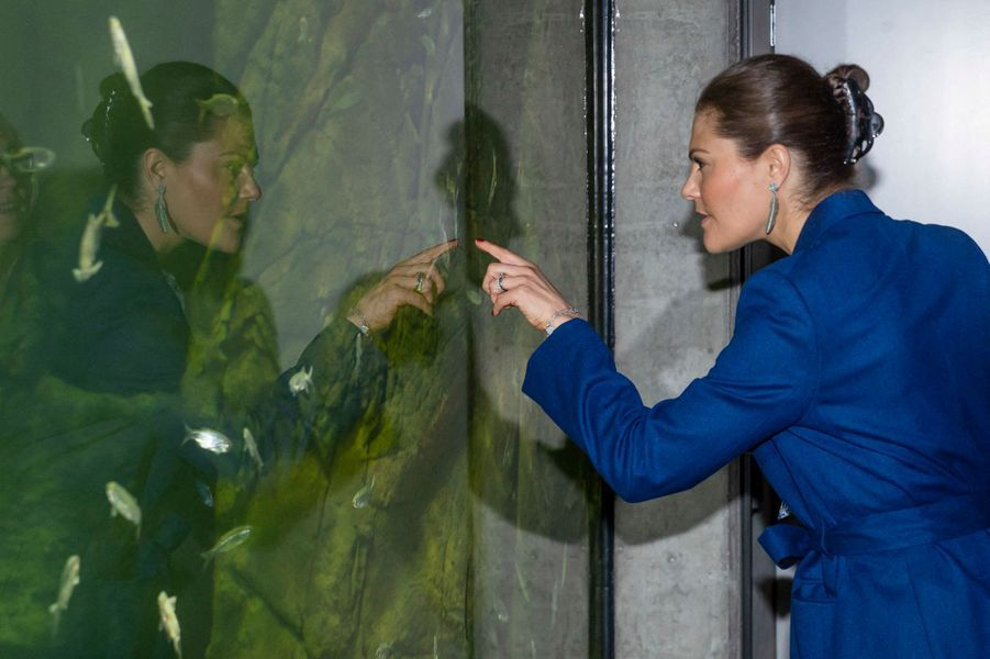 La princesse Victoria de Suède à Stockholm, le 11 avril 2019