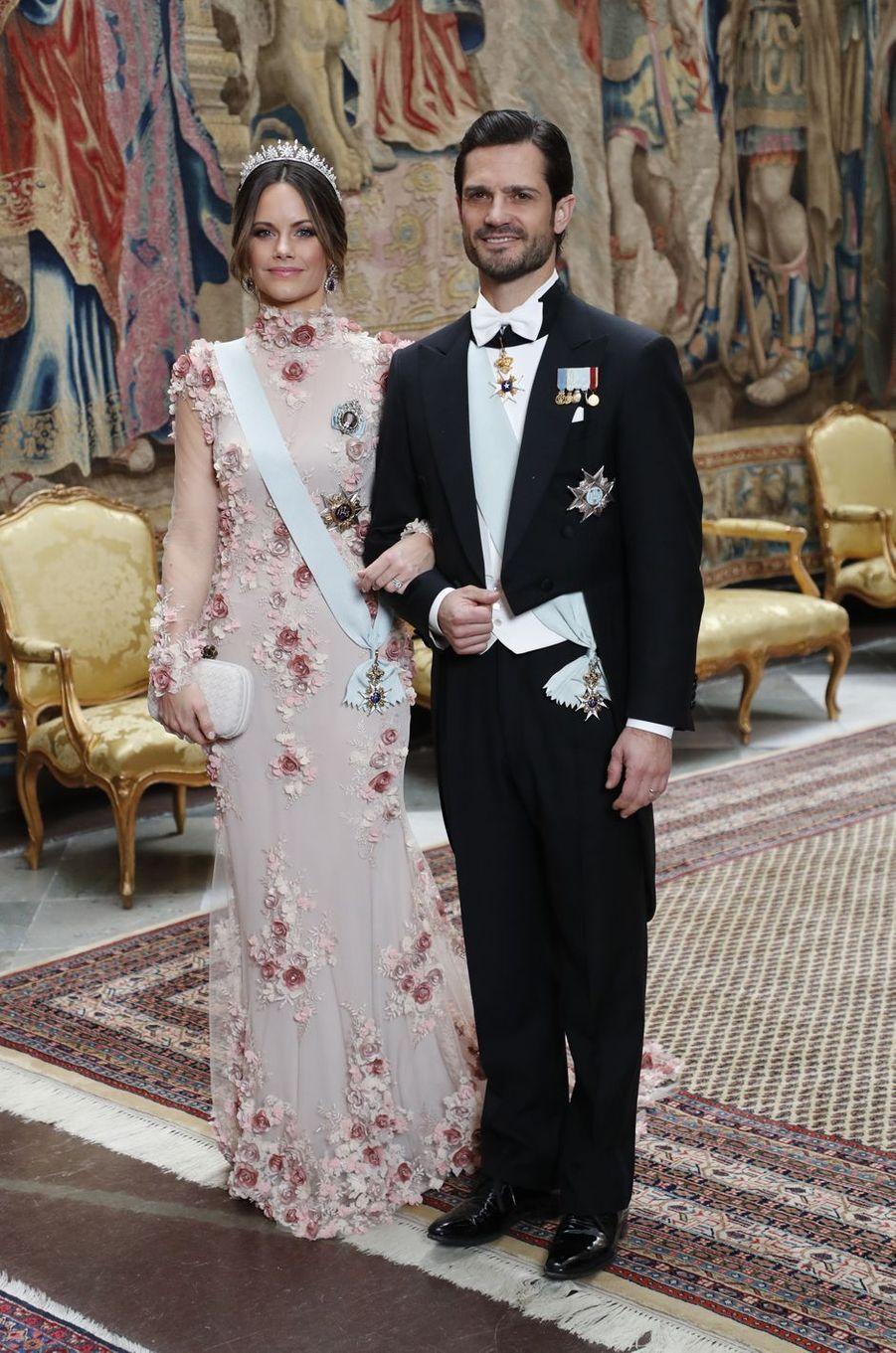 La princesse Sofia et le prince Carl Philip de Suède à Stockholm, le 11 décembre 2019