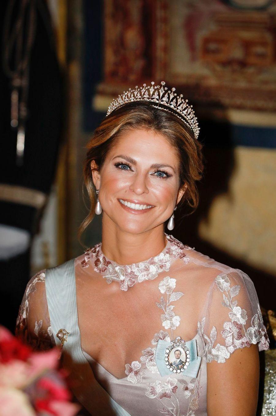 La princesse Madeleine de Suède à Stockholm, le 11 décembre 2019