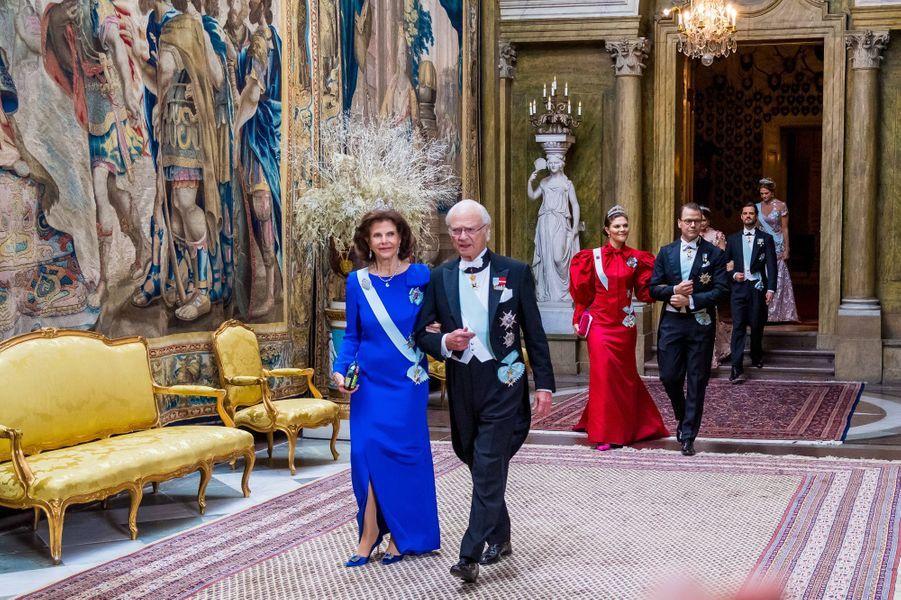 La famille royale de Suède à Stockholm, le 11 décembre 2019