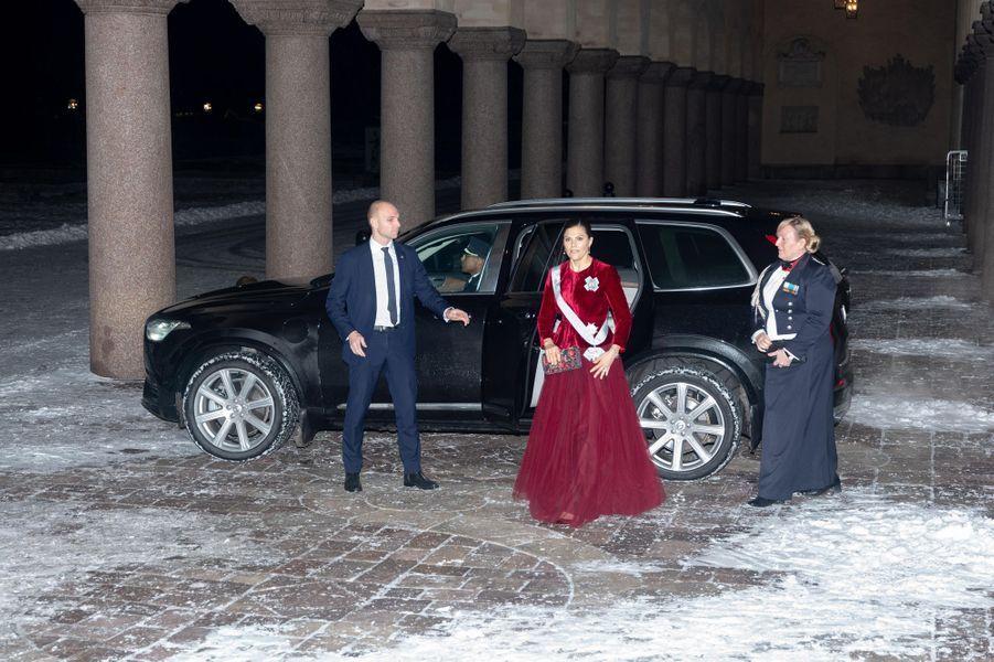 La princesse héritière Victoria de Suède à Stockholm, le 28 janvier 2019
