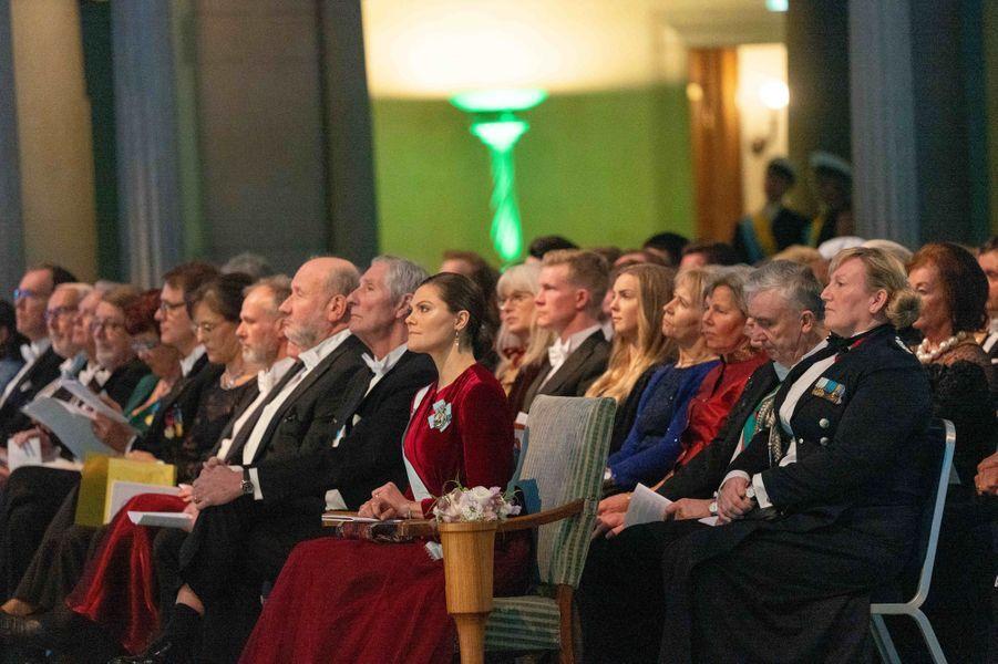 La princesse Victoria de Suède à Stockholm, le 28 janvier 2019