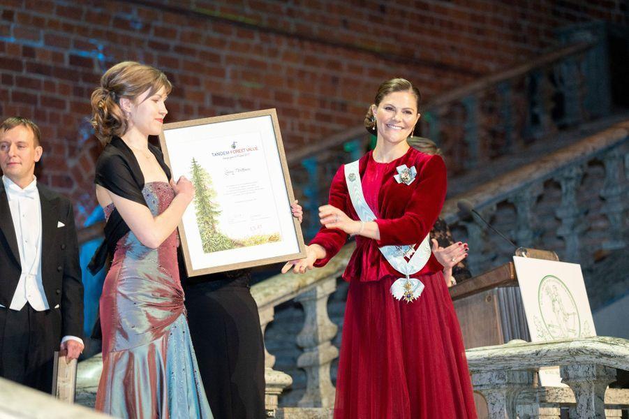 La princesse Victoria de Suède, le 28 janvier 2019 à Stockholm