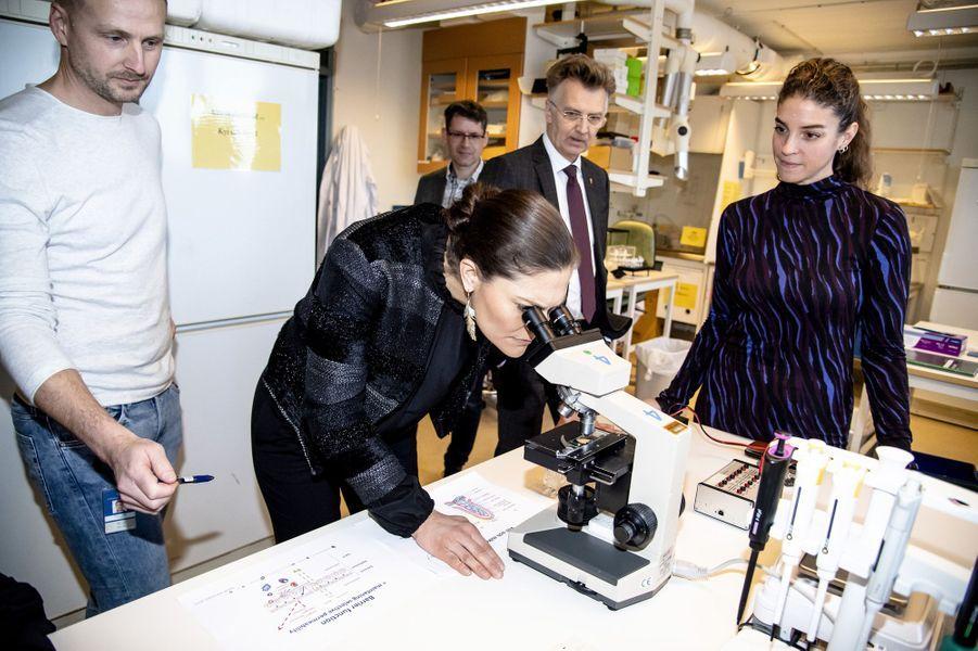 La princesse Victoria de Suède à Göteborg, le 30 janvier 2019