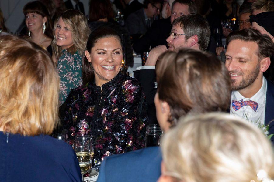 La princesse Victoria de Suède à Stockholm, le 3 février 2019