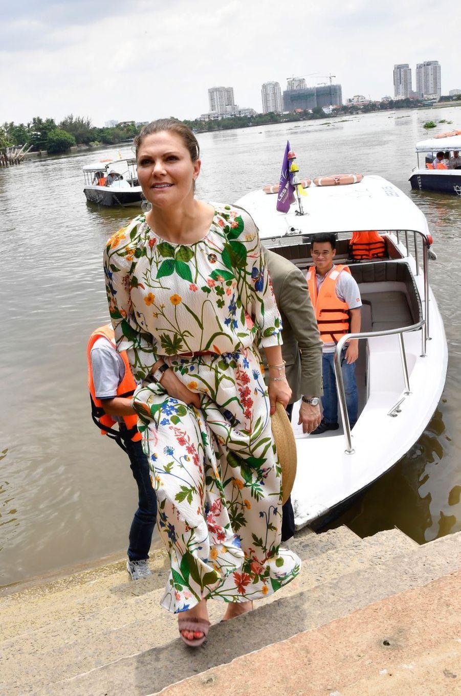 La princesse Victoria de Suède à Hô Chi Minh-Ville, le 8 mai 2019