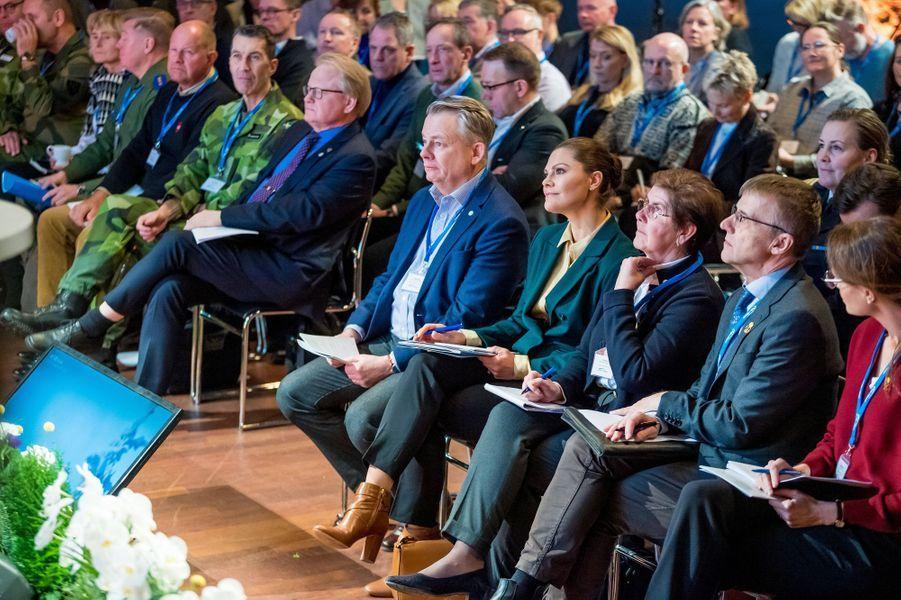 La princesse Victoria de Suède à Sälen, le 13 janvier 2020