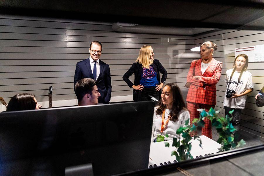 La princesse Victoria de Suède et le prince Daniel à Gävle, le 11 septembre 2020