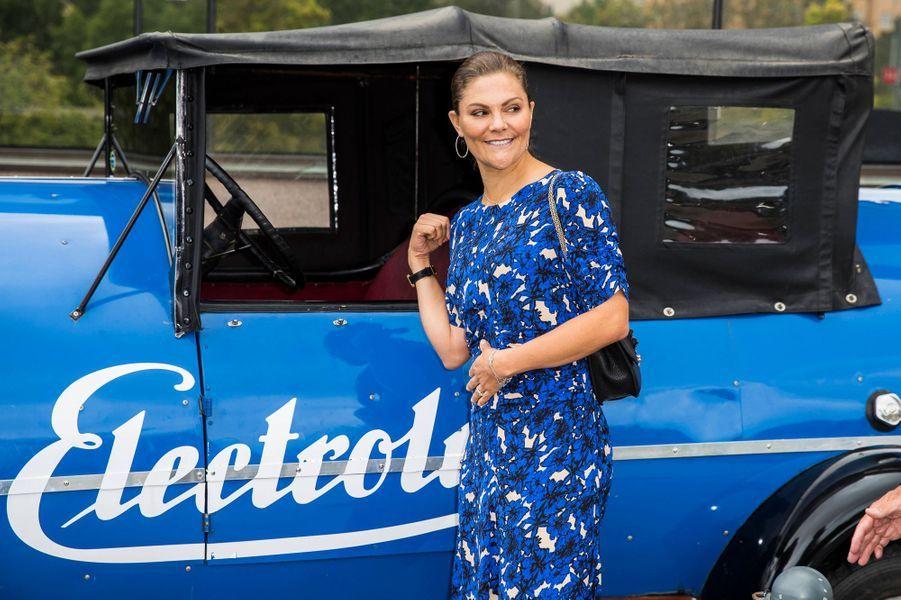 La princesse héritière Victoria de Suède à Stockholm, le 4 septembre 2019