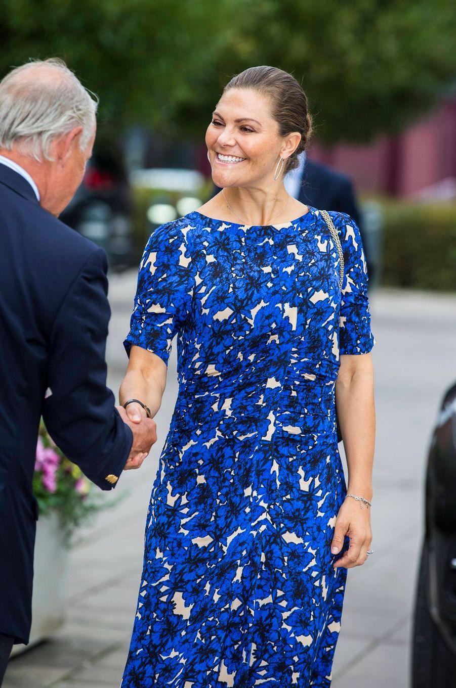 La princesse Victoria de Suède à Stockholm, le 4 septembre 2019