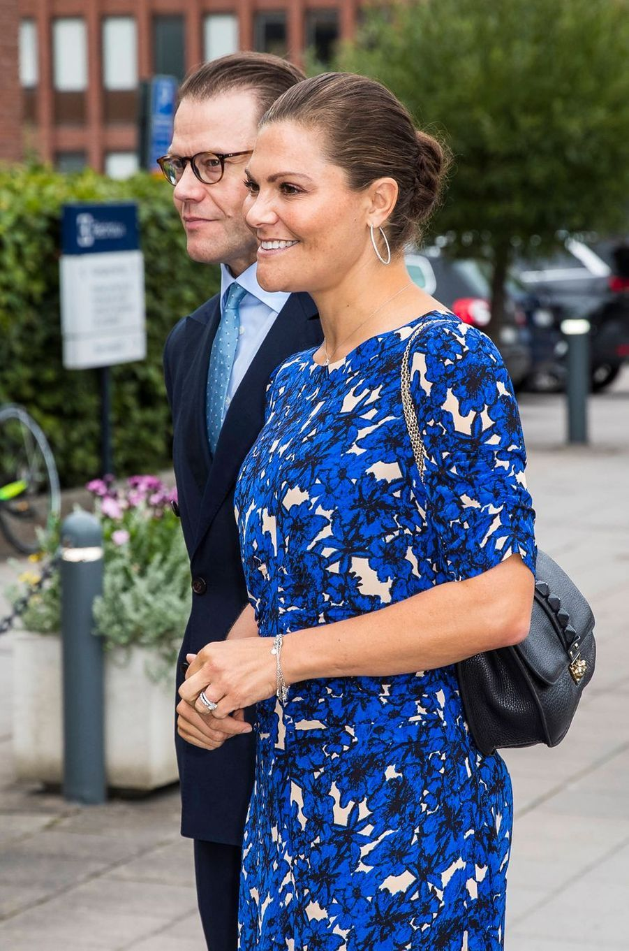 La princesse héritière Victoria de Suède et le prince consort Daniel à Stockholm, le 4 septembre 2019