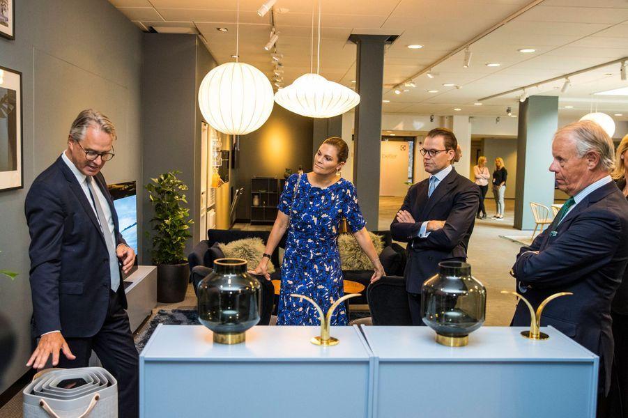 La princesse Victoria de Suède et le prince consort Daniel à Stockholm, le 4 septembre 2019