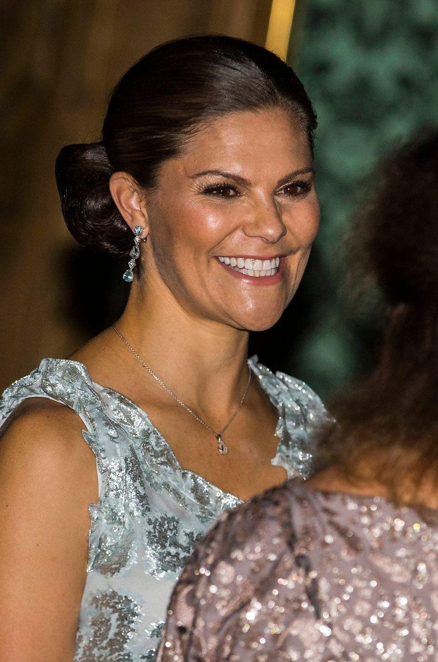 La princesse Victoria de Suède à Stockholm, le 20 septembre 2019