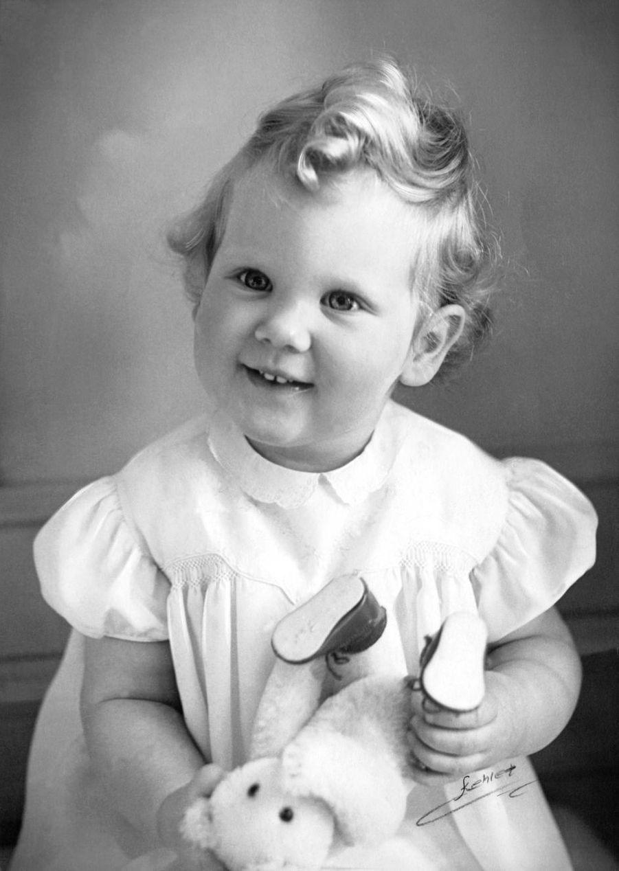 La princesse Margrethe de Danemark, vers 1941-42