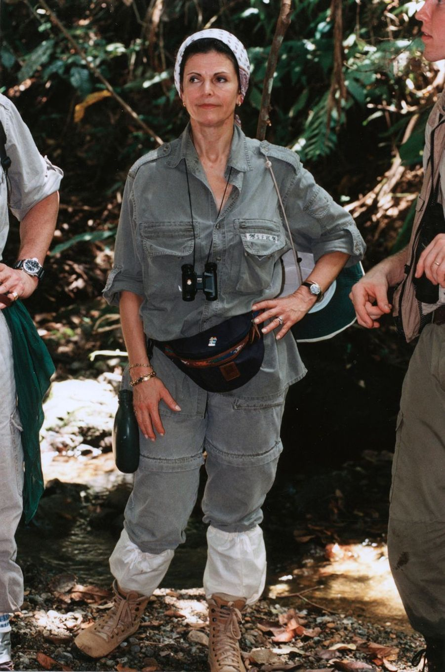 La reine Silvia de Suède, le 15 mars 1996