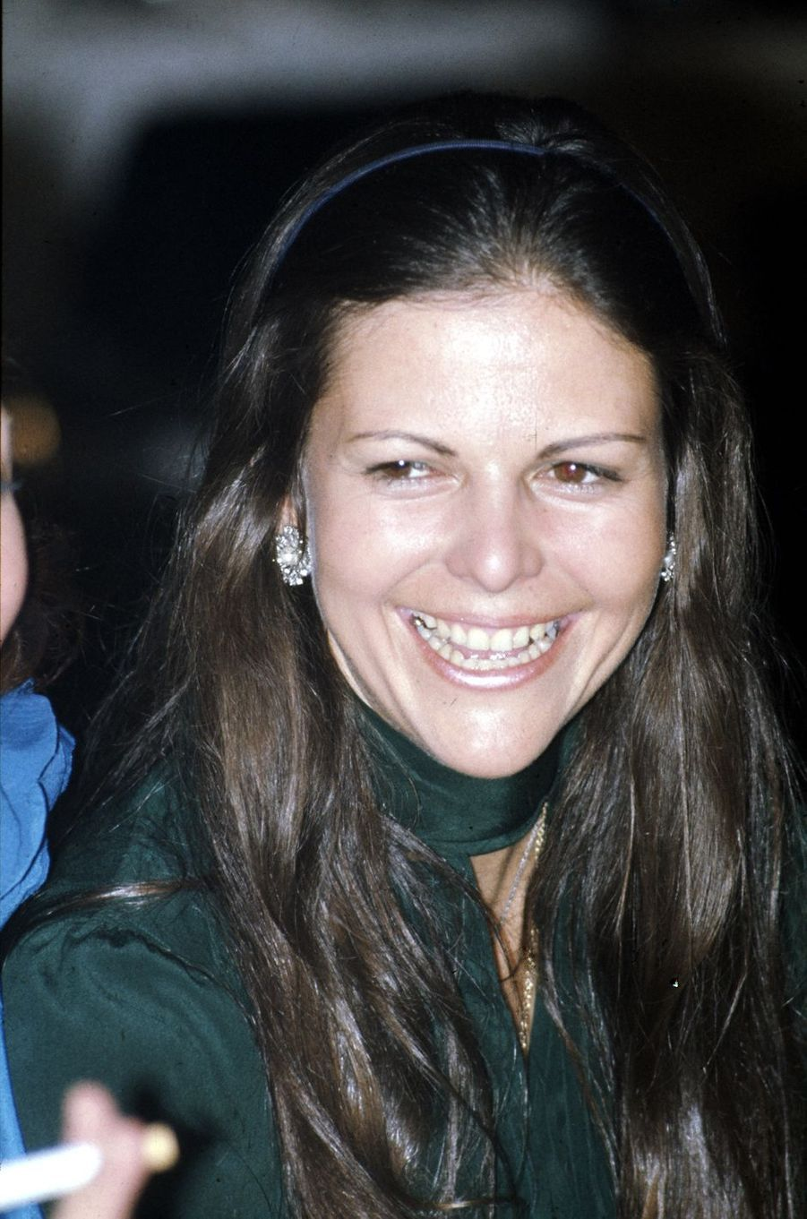 Silvia Sommerlath, en 1974