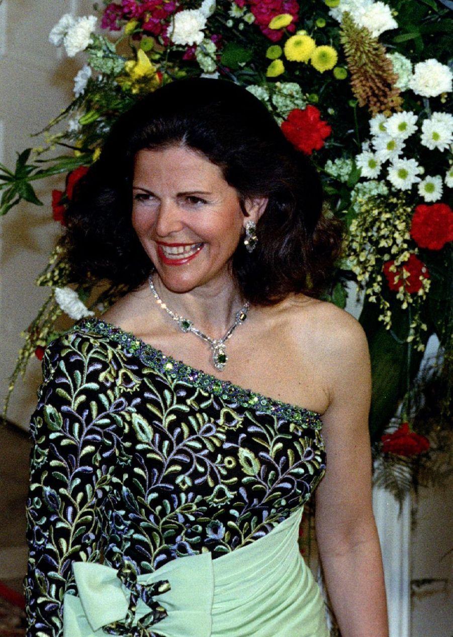 La reine Silvia de Suède, le 24 avril 1993