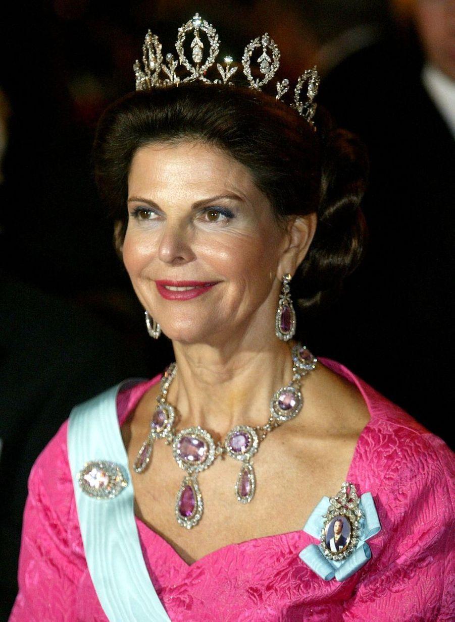 La reine Silvia de Suède, le 10 décembre 2003