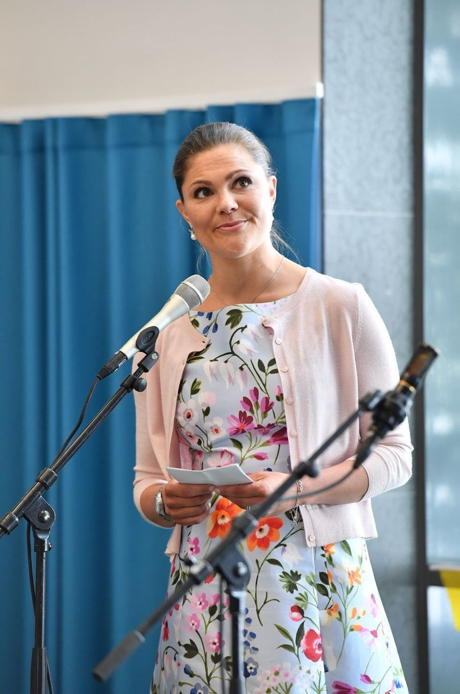 La princesse Victoria de Suède à Nacka, le 6 juin 2016