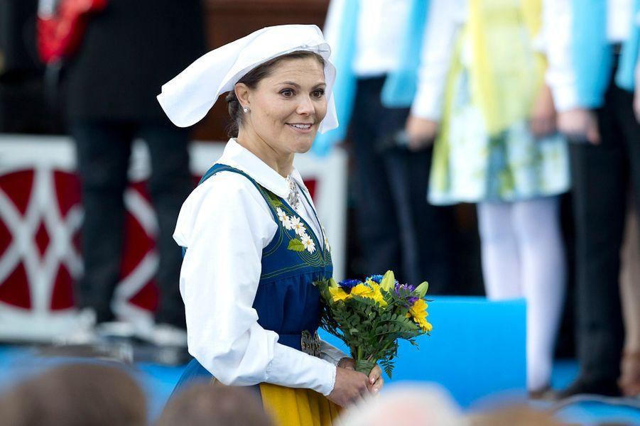 La princesse Victoria de Suède à Stockholm, le 6 juin 2016