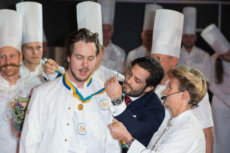 Le prince Carl Philip de Suède à Stockholm, le 11 février 2016