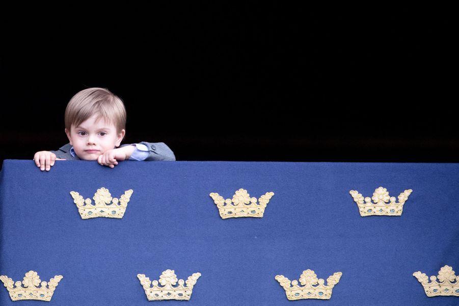 Le prince Oscar de Suède à Stockholm, le 30 avril 2019