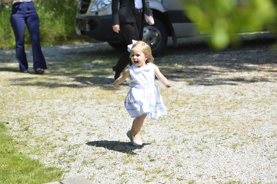 La princesse Leonore de Suède à Visby sur l'île de Gotland, le 3 juin 2016