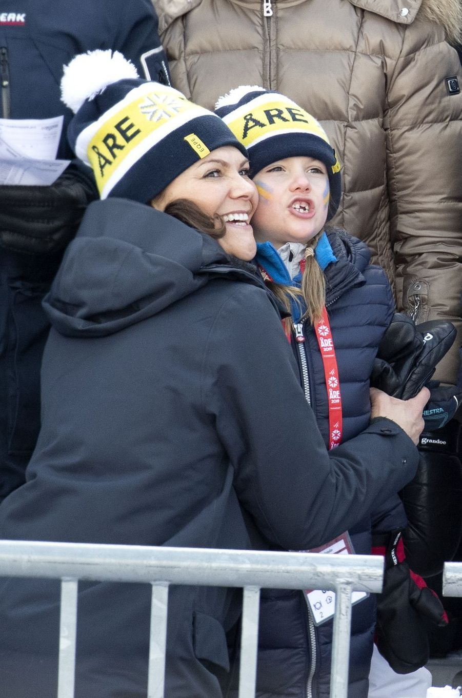 Les princesses Estelle et Victoria de Suède à Are, le week-end des 9 et 10 février 2019