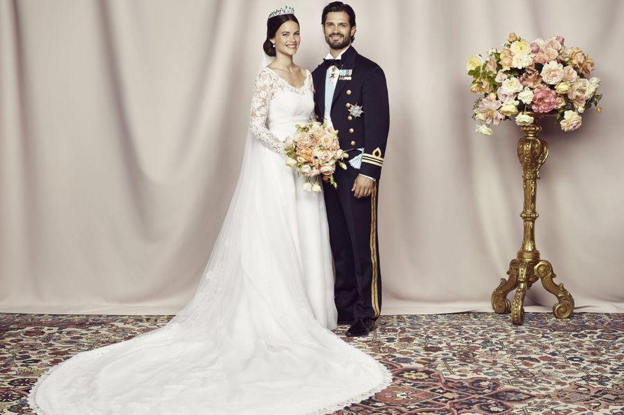 Les photos officielles du mariage de Carl Philip et Sofia