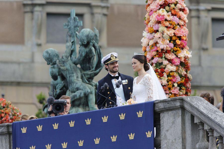 Les plus belles photos du mariage du prince Carl Philip de Suède et de la princesse Sofia