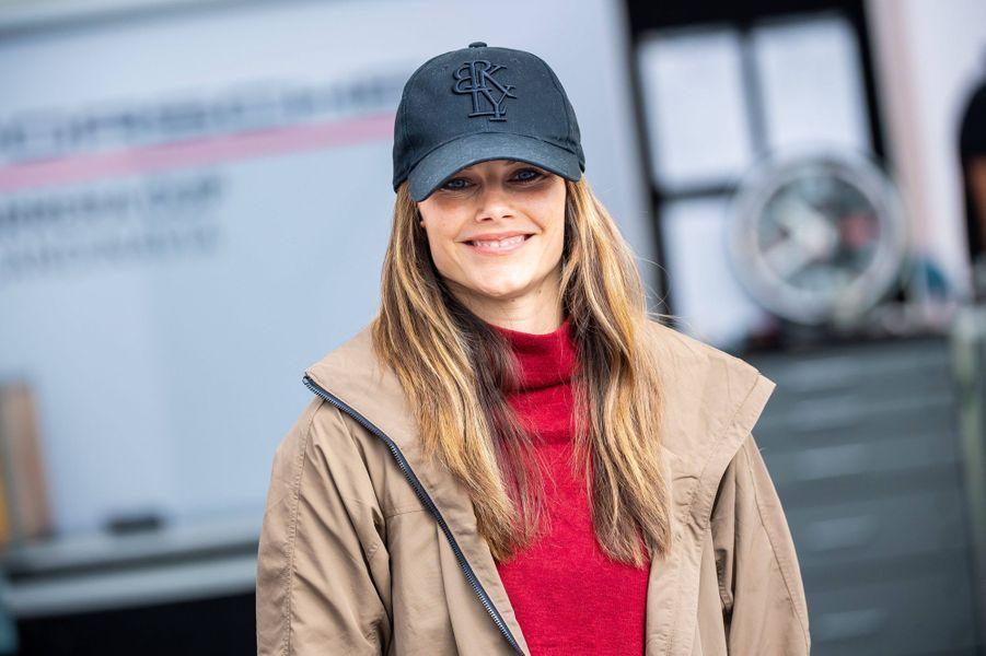 La princesse Sofia de Suède sur le circuit suédois de Gellerasen, le 18 août 2019