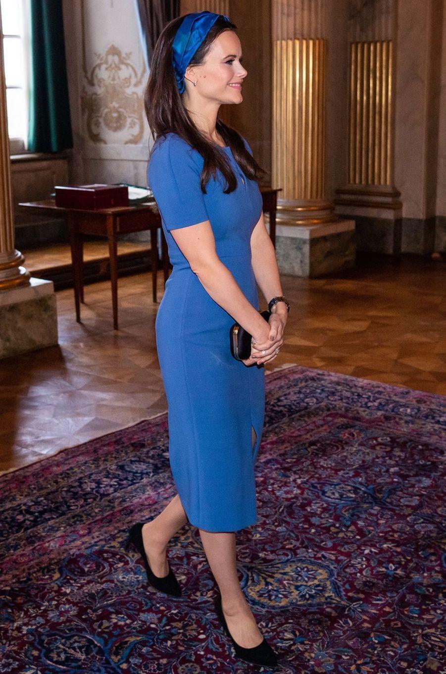 La princesse Sofia de Suède à Stockholm, le 13 novembre 2018