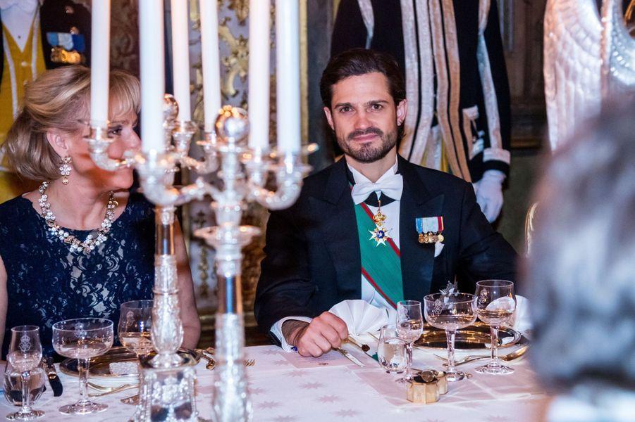 Le prince Carl Philip de Suède à Stockholm, le 13 novembre 2018