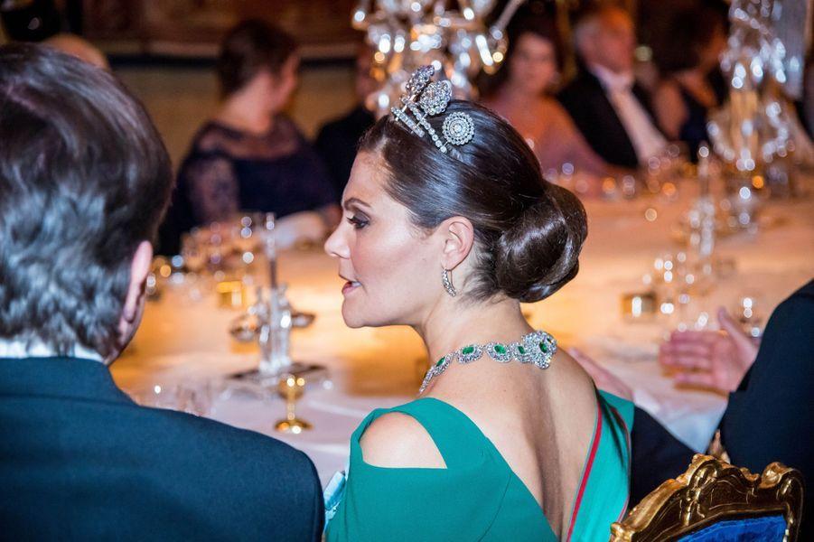 La princesse Victoria de Suède à Stockholm, le 13 novembre 2018