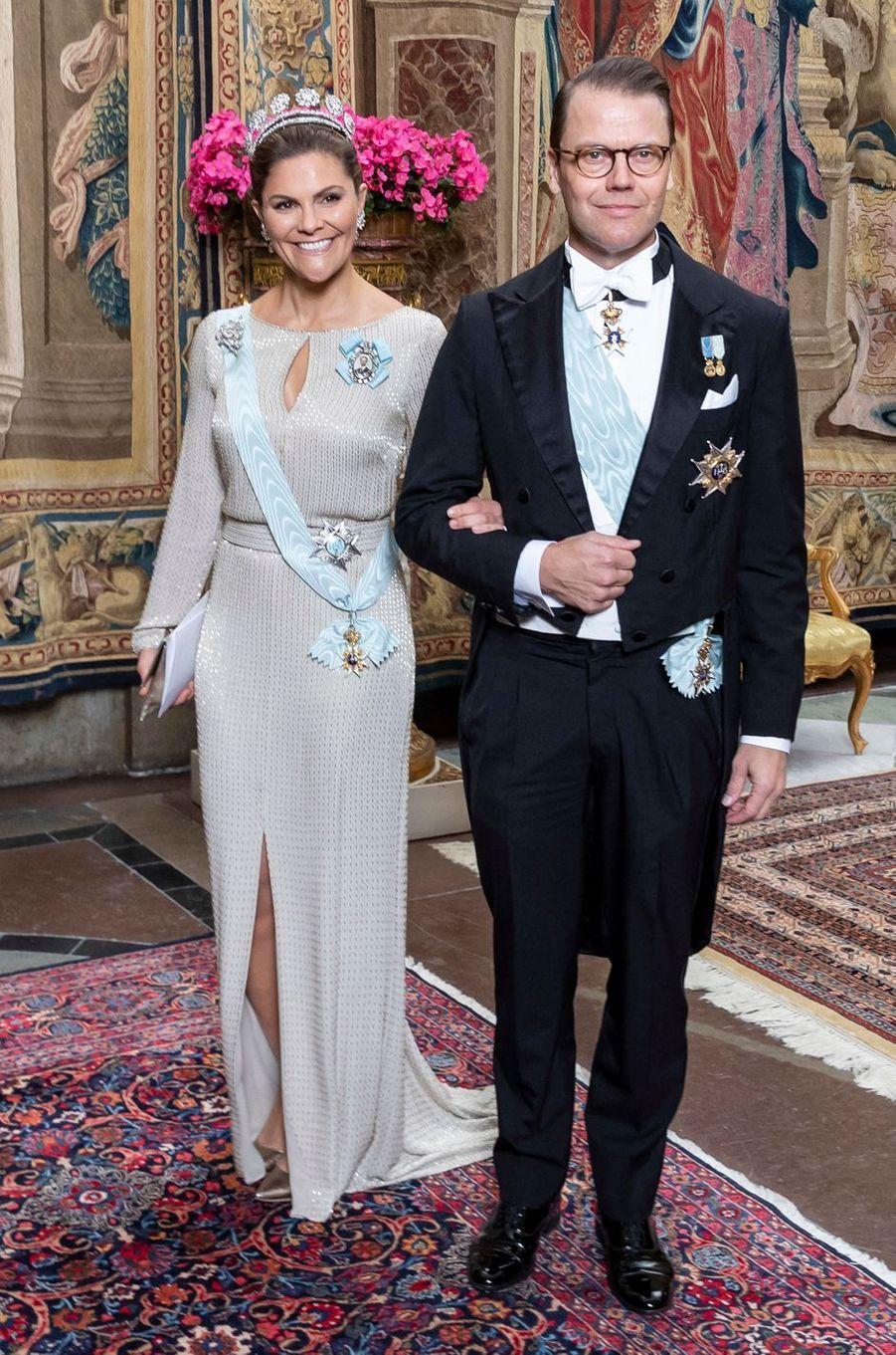 La princesse Victoria de Suède et le prince consort Daniel à Stockholm, le 12 novembre 2019