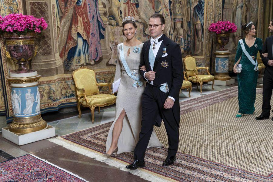 Les princesses Victoria et Sofia et les princes Daniel et Carl Philip de Suède, à Stockholm le 12 novembre 2019