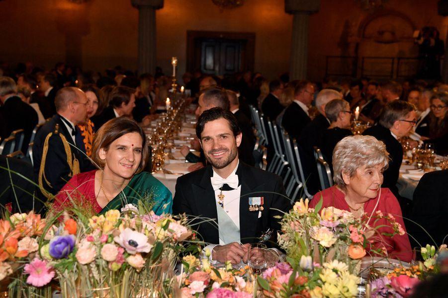 Le prince Carl Philip de Suède à Stockholm, le 10 décembre 2019