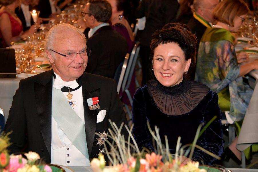 Le roi Carl XVI Gustaf de Suède à Stockholm, le 10 décembre 2019