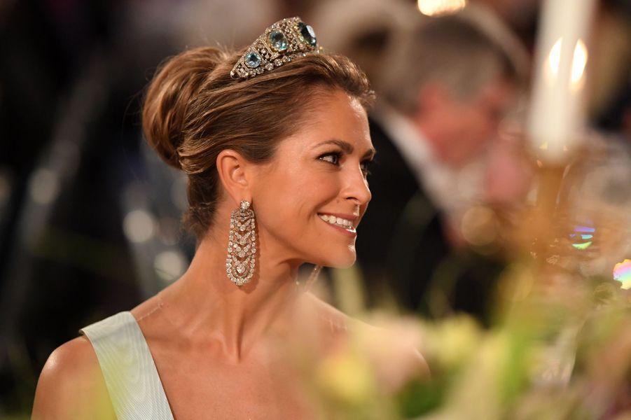 La princesse Madeleine de Suède à Stockholm, le 10 décembre 2019