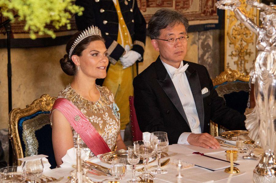 La princesse Victoria de Suède à Stockholm, le 14 juin 2019