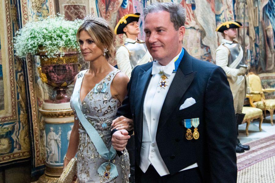 La princesse Madeleine de Suède et Christopher O'Neill à Stockholm, le 14 juin 2019