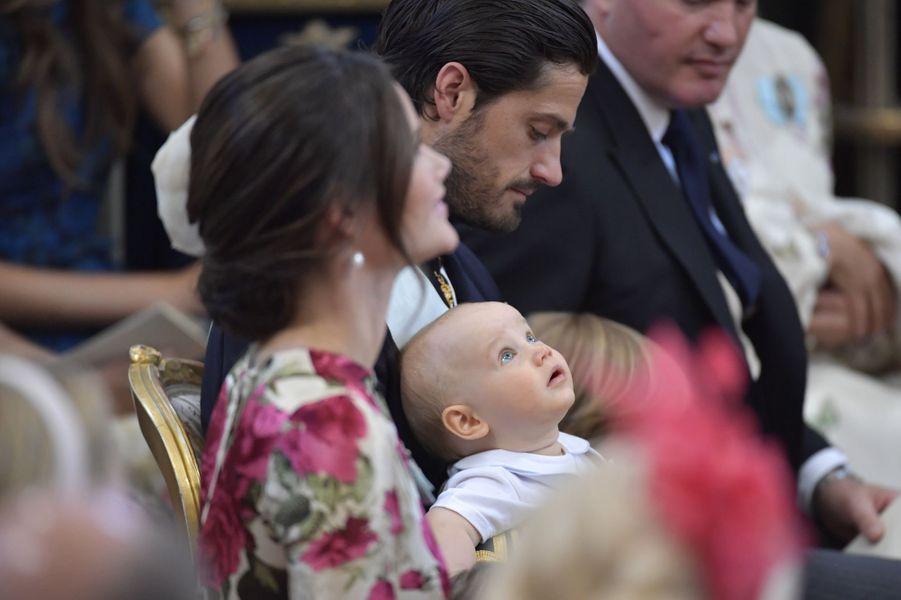 Le prince Gabriel de Suède, le 8 juin 2018