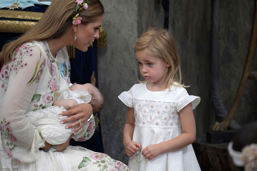 Les princesses Adrienne et Leonore de Suède, le 8 juin 2018