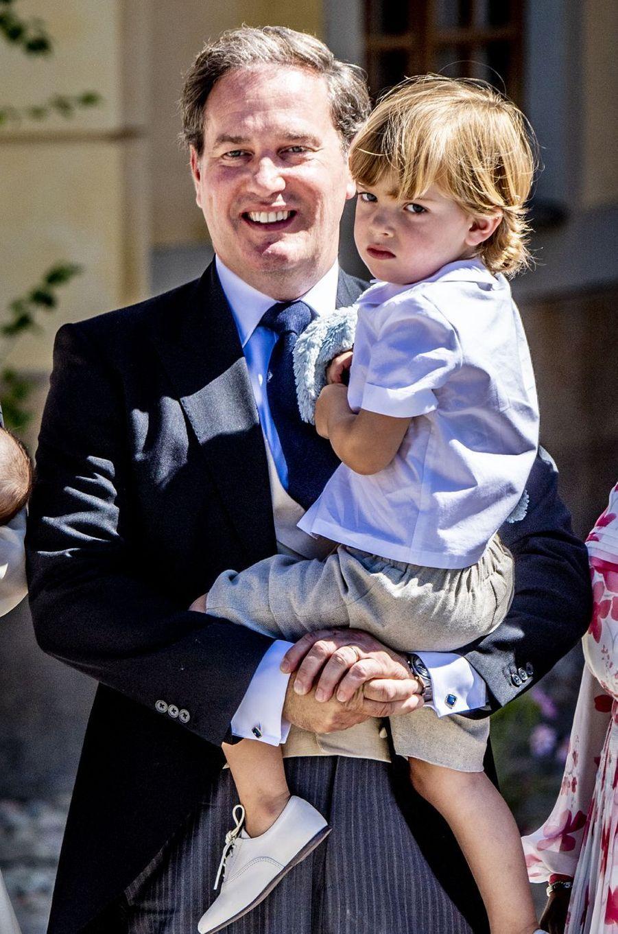 Le prince Nicolas de Suède, le 8 juin 2018
