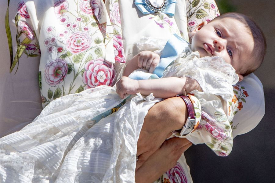 La princesse Adrienne de Suède, le 8 juin 2018