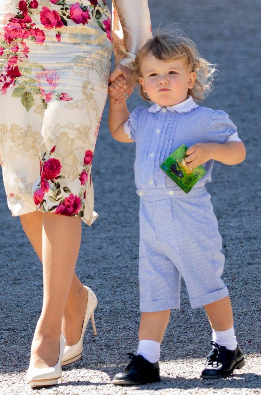 Le prince Alexander de Suède, le 8 juin 2018